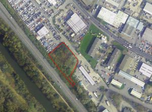 Secure storage land – Hadfield Close – No longer available